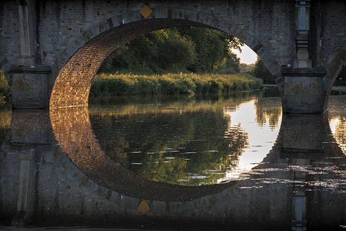 Pont de chemin de fer, le Boël (Bruz)